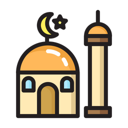 Religious Colored Outline Icon