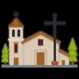 Religious Building Flat Icon