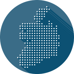 Republic, Of, Ireland, Map, Country Icon
