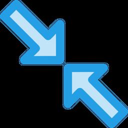 Resize, Maximum, Arrow, Big, Large Icon