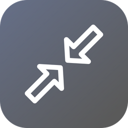 Resize, Minimum, Arrow, Small Icon