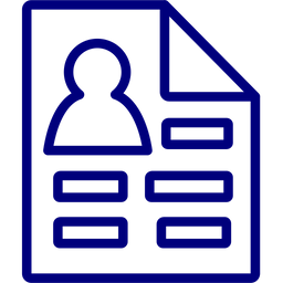 Resume Icon Of Line Style Available In Svg Png Eps Ai Icon