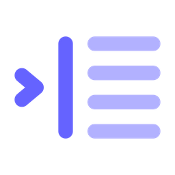 Right-indent Icon