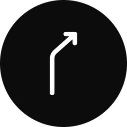 Right turn Icon png