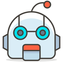 Robot Emoji Icon Of Colored Outline Style Available In Svg Png Eps Ai Icon Fonts