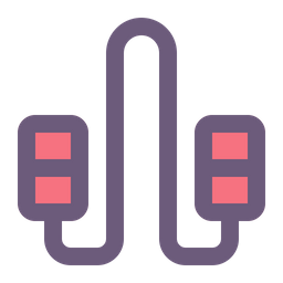 Rope Colored Outline Icon