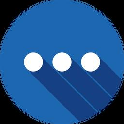 Round Glyph Icon