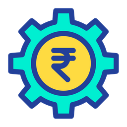 Rupees Cog Icon