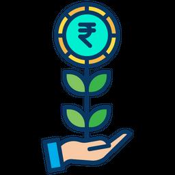 Rupees Grow Icon