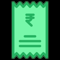 Rupees Statement Icon