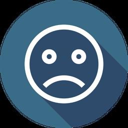 Sadness Line Icon
