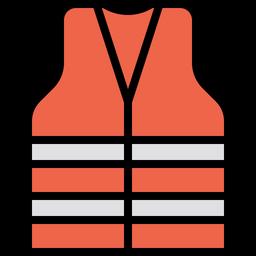 Safety jacket Icon