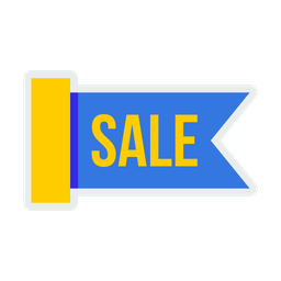 Sale, Off, Offer, Shop, Shopping, Tag, Ribbon, Coupon Icon