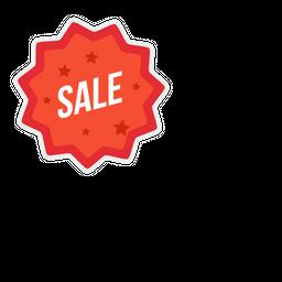 Sale Flat Icon