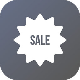 Sale, Sticker, Discount, Offer Icon