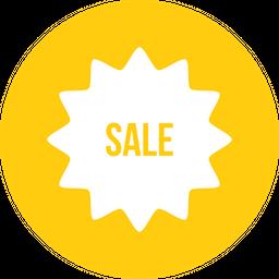 Sale, Sticker, Offer, Discount Icon