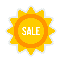 Sale, Sticker, Offer, Off, Shop, Online, Shopping Icon