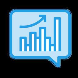 Sales, Analytics, Performance, Strategy, Marketing, Data, Reseaech, Graph Icon