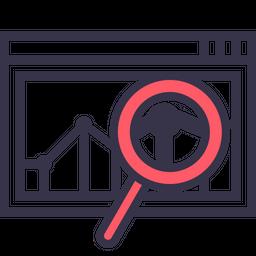 Sales, Statics, Analysis, Performance, Measure, Marketing, Data Icon