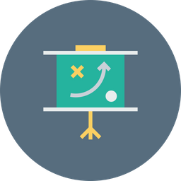 Sales, Statics, Analysis, Report, Strategy, Board, Performance Icon