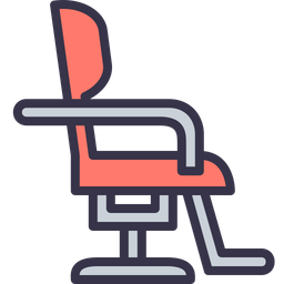 Salon, Furniture, Barber, Hair, Cutting, Hairdresser, Chair Icon png