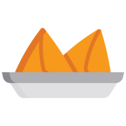 Samosa Icon Of Flat Style Available In Svg Png Eps Ai Icon Fonts