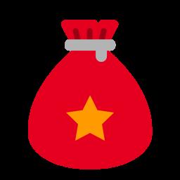 Santa, Bag, Gift, Present, Christmas, Xmas Icon
