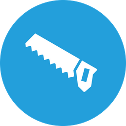 Saw, Carpentry, Cut, Timber, Tool Icon