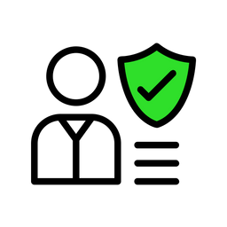 Secure Customer Icon
