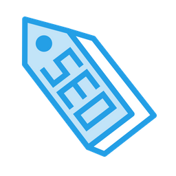 Seo, Tool, Optimization, Search, Tag, Ribbon, Label Icon