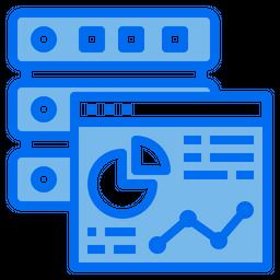 Server Analysis Dualtone Icon