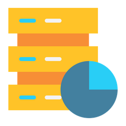 Server Chart Flat Icon