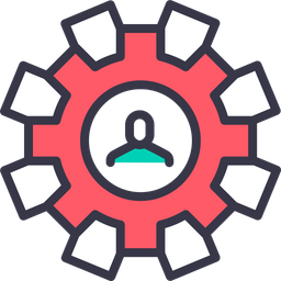 Setting, Gear, Preferences, Optimization, Configure, Man, Employee Icon