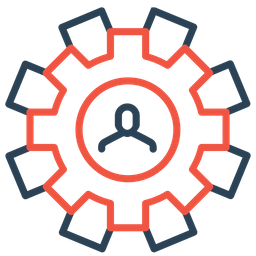 Setting, Gear, Preferences, Optimization, Configure, Man, Employee Icon