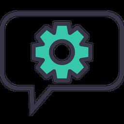 Setting, Gear, Preferences, Optimization, Configure, Wheel, Bubble Icon