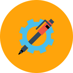 Settings, Gear, Preferences, Pen, Optimization, Seo, Web Icon