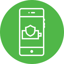 Shield, Battery, Indicator, Secure, Charge, Interface, UI Icon