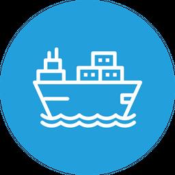 Ship Line Icon