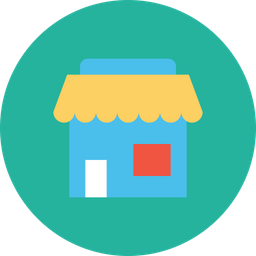 Shop, Shopping, Online, Store, Street, Purchase, Seo Icon