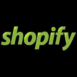 Shopify Flat  Logo Icon