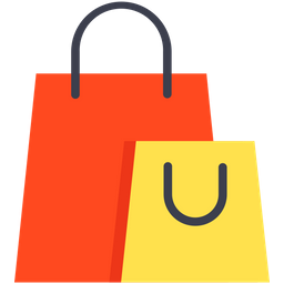 Shopping Bag Icon of Flat style - Available in SVG, PNG ...
