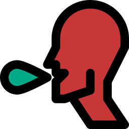 Sick Colored Outline Icon