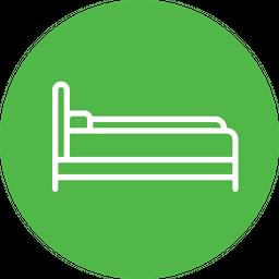 Sleeping, Bed, Furniture, Bedroom, Furnishing, Household, Sleep Icon