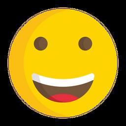 Grinning Face Emoji Icon