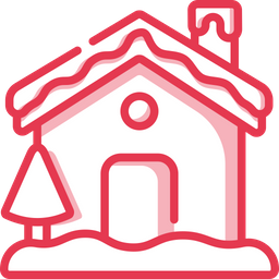 Snowy House Icon Of Dualtone Style Available In Svg Png Eps Ai Icon Fonts