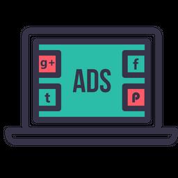 Socialmedia advertising digitalmarketing branding facebook twitter 14 Icon