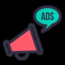 Socialmedia advertising digitalmarketing branding facebook twitter 16 Icon  - Download in Colored Outline Style