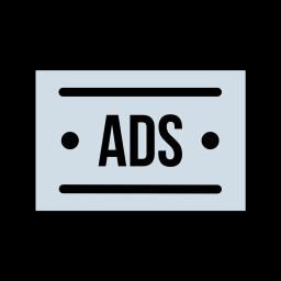 Socialmedia advertising digitalmarketing branding facebook twitter 84 Icon