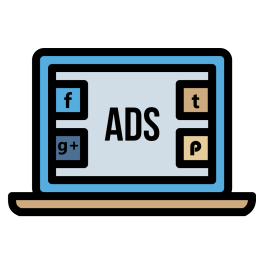 Socialmedia advertising digitalmarketing branding facebook twitter 89 Icon