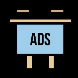 Socialmedia advertising digitalmarketing branding facebook twitter 94 Icon